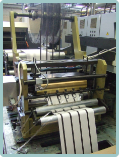 At DSE we have developeda tape laydown unit that can be retrofitted onto presses.